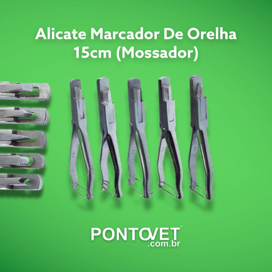 Alicate Marcador De Orelha 15cm (Mossador)