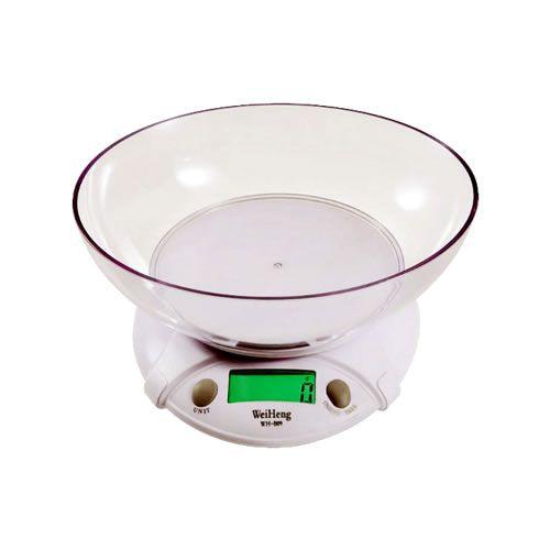 Balança Digital de Mesa 7kg/ x 1g Com Recipiente
