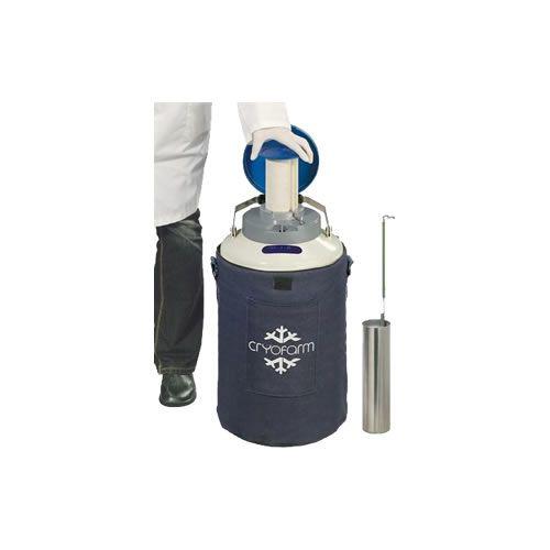 Botijão YDH 8 DRY Shipper Cryofarm