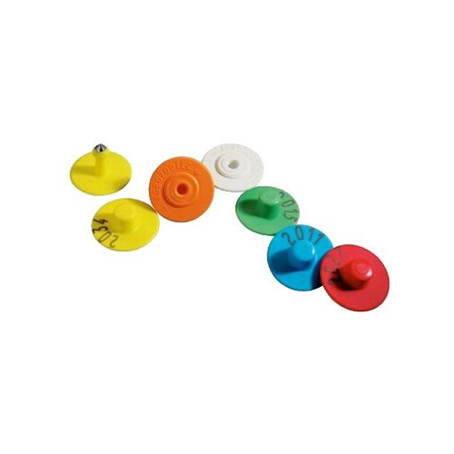 Brinco Boton Liso Zooflex (25 Unidades)