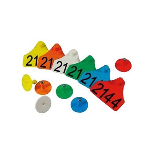 Brinco Numerado Médio Zooflex (25 Unidades)