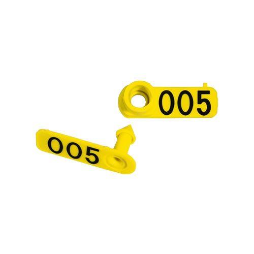 Brinco Ovicaprino Numerado Zooflex (50 Unidades)