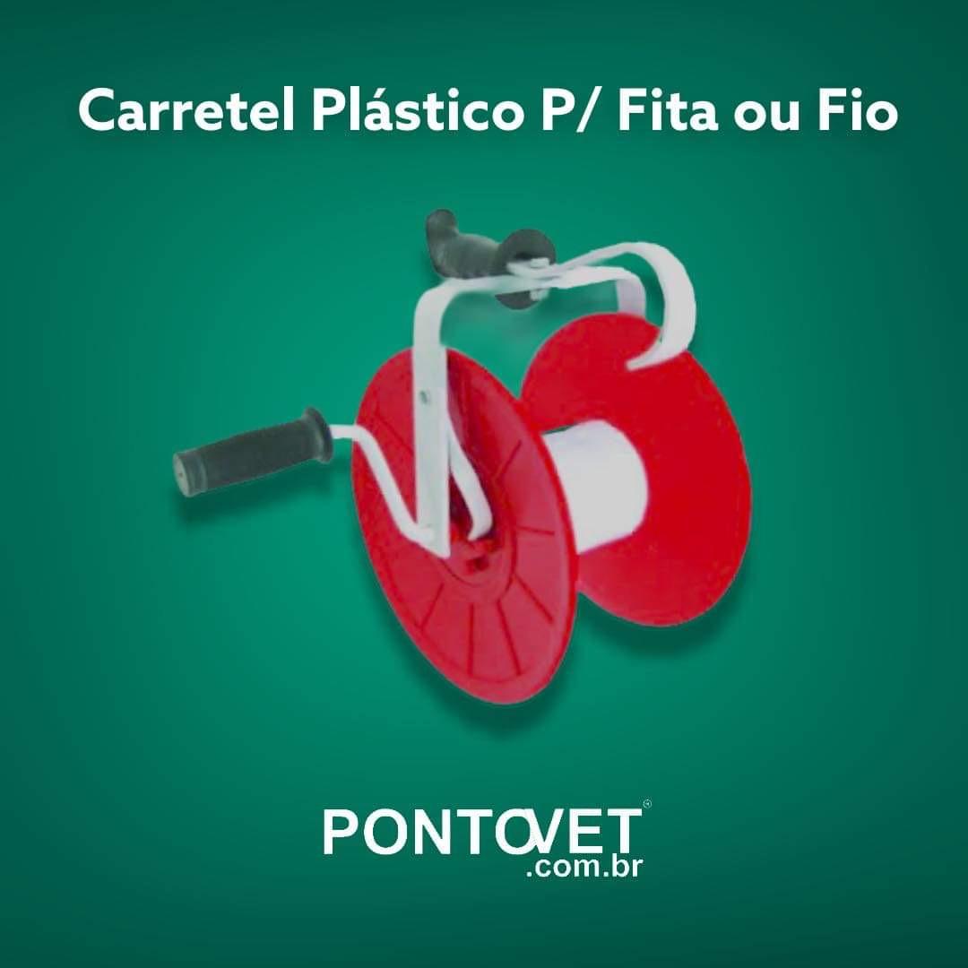 Carretel Plástico Vazio P/ Fita ou Fio