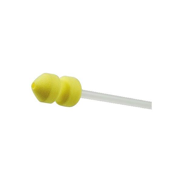 Catéter Descartável P/ Inseminação Suína - Esponja Amarela (sem Tampa) 10 Unidades