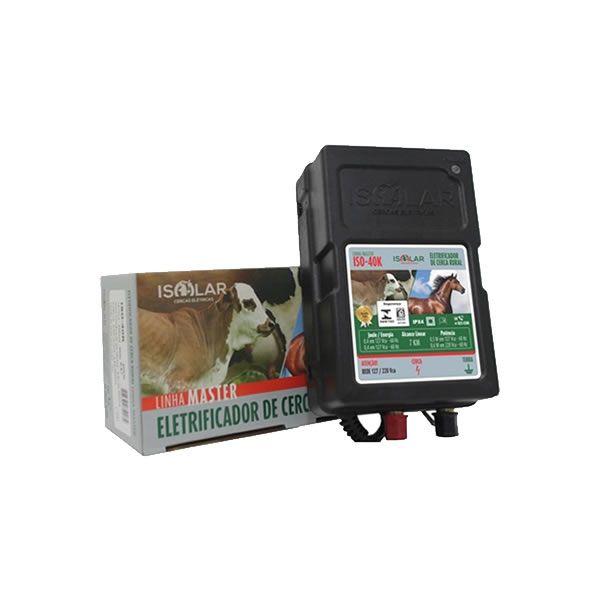 Eletrificador Bateria para Cerca Elétrica (Capacidade 7 Km)