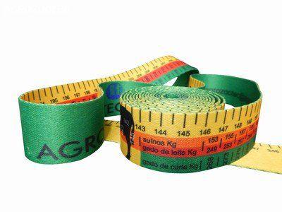 Fita para Cálculo de Peso Animal Bovinos e Suínos