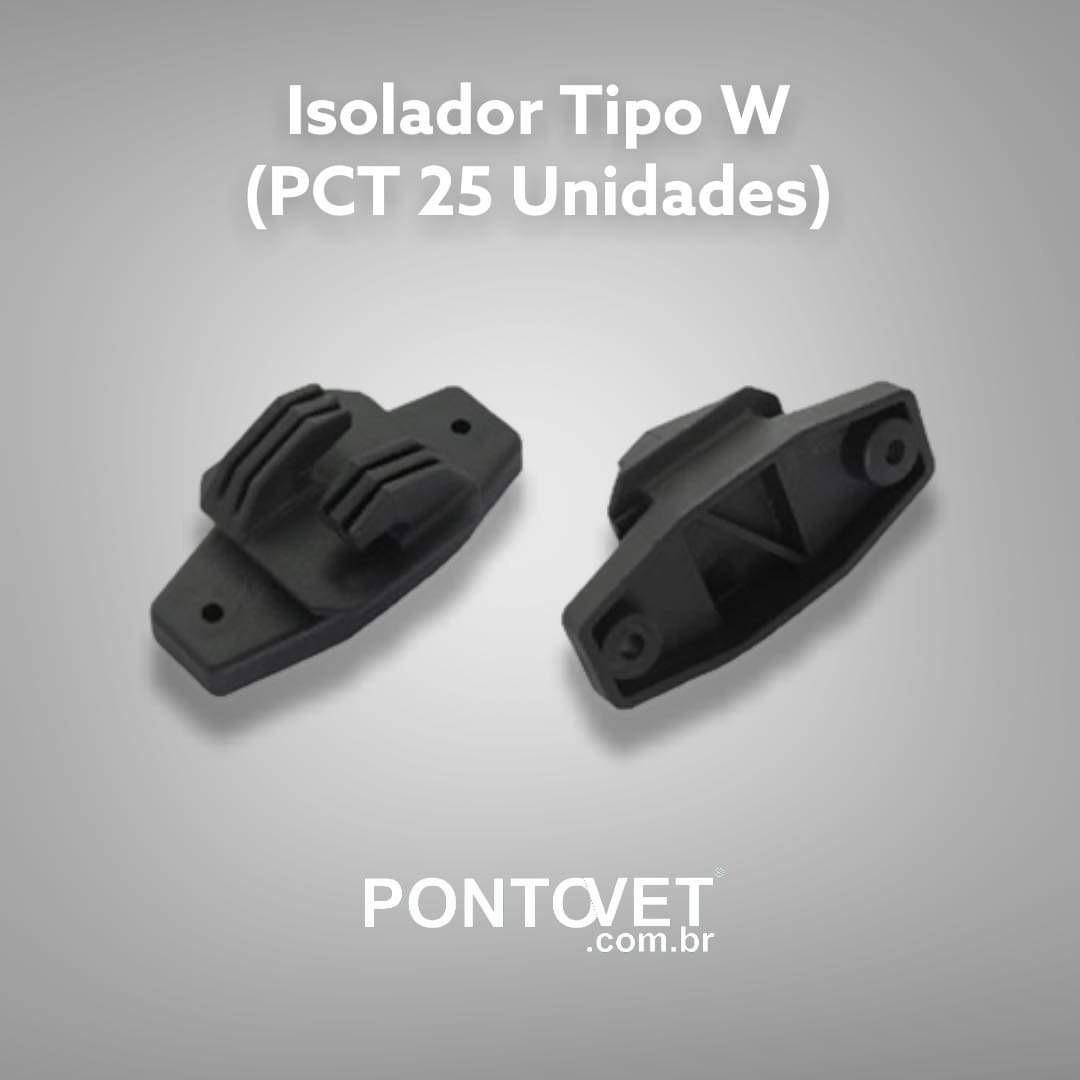Isolador Tipo W (Pct 25 Unidades)