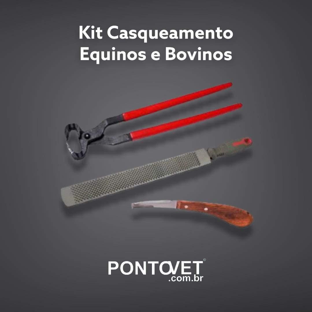 Kit Casqueamento Equinos e Bovinos