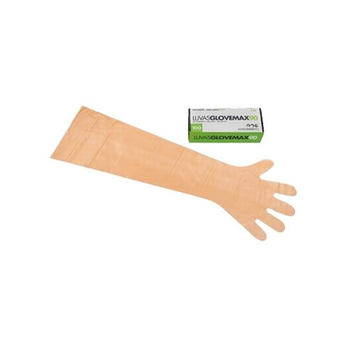 Luvas P/ Inseminação Extra 90cm (cxa 100 Unid.)  Importada Glovemax