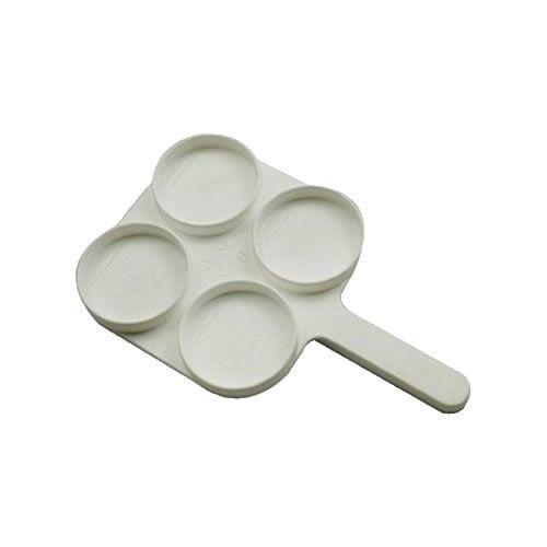 Raquete Com 4 Cavidades Para Teste de Mastite (CMT)
