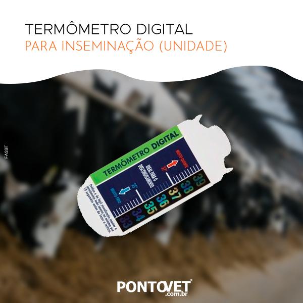 Termômetro Digital Para Inseminação (Unidade)