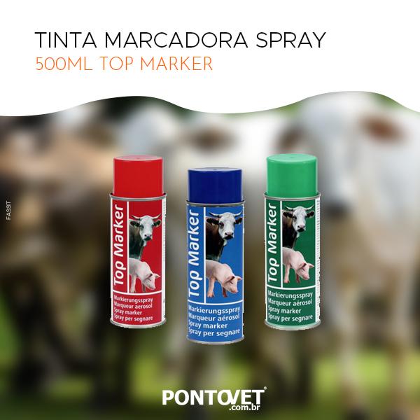 Tinta Marcadora Spray 500ml Top Marker