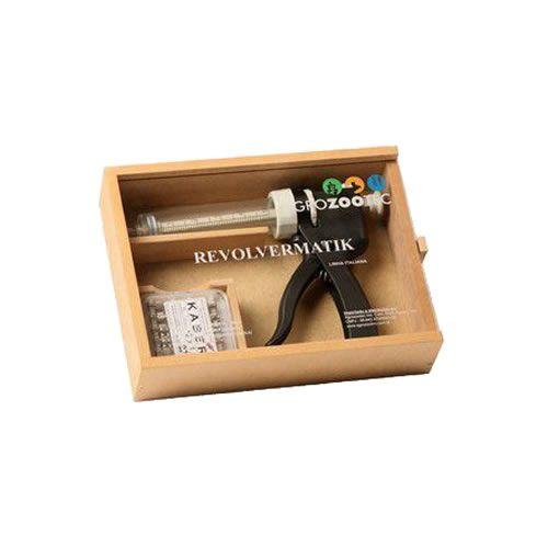 Vacinador Semi-automatica Revolvermatik 50ml