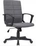 Cadeira Escritorio STOL Tecido Cinza Escuro - Moln Design Furniture