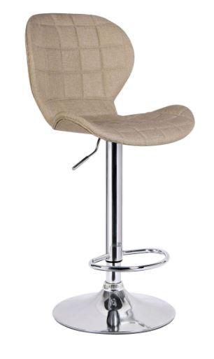 Banqueta Lucia Linho Bege - Moln Design Furniture