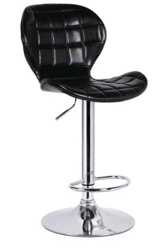Banqueta Lucia PU Preto - Moln Design Furniture