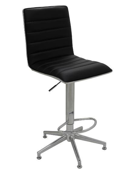 Banqueta Niteroi Preta - Moln Design Furniture