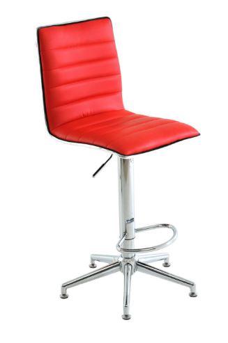 Banqueta Niteroi Vermelha - Moln Design Furniture