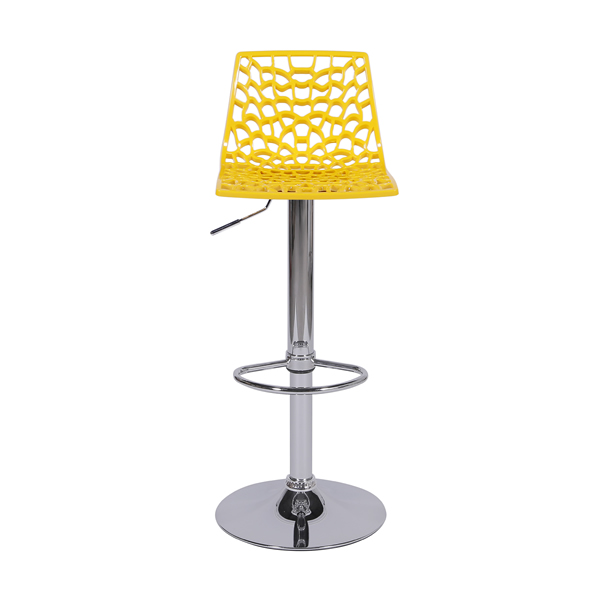 Banqueta Spider Amarela - Moln Design Furniture