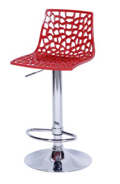 Banqueta Spider Vermelha - Moln Design Furniture