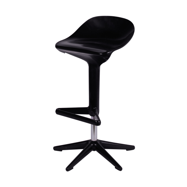 Banqueta Spoon Kartell Preta - Moln Design Furniture