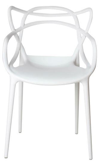 Cadeira Allegra Branca - Moln Design Furniture