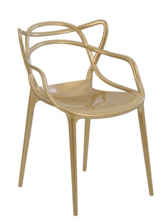 Cadeira Allegra Champagne - Moln Design Furniture