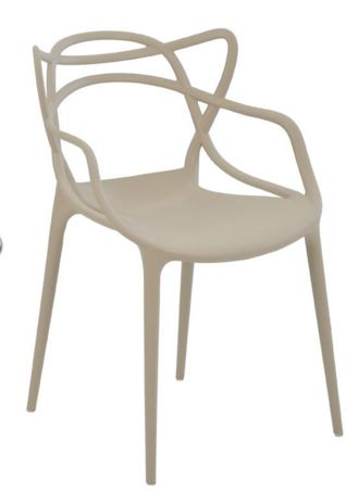 Cadeira Allegra Nude - Moln Design Furniture