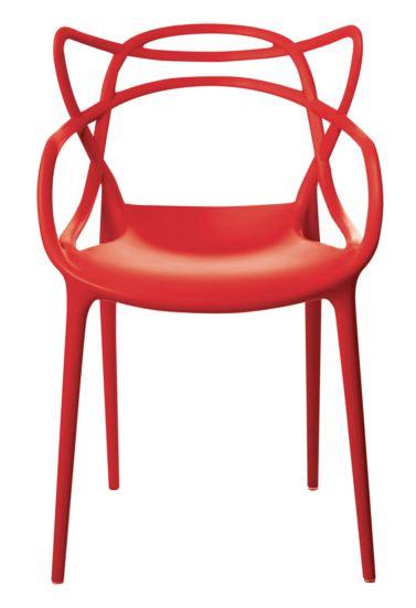 Cadeira Allegra Vermelha - Moln Design Furniture