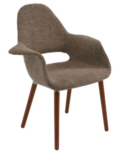 Cadeira Antonia Bege - Moln Design Furniture