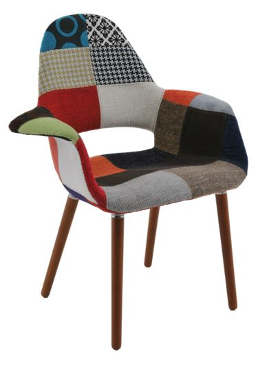 Cadeira Antonia Patchwork - Moln Design Furniture