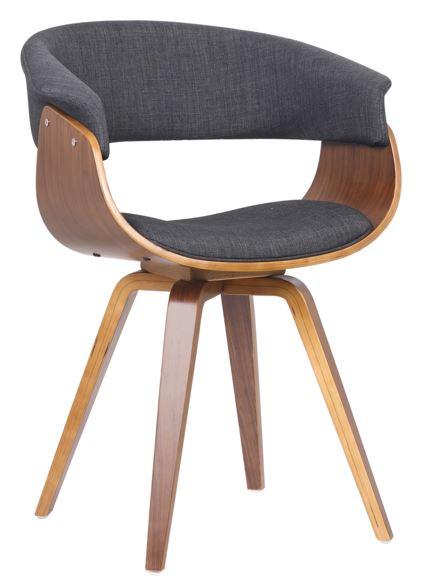 Cadeira Betina Grafite - Moln Design Furniture
