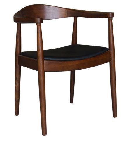 Cadeira Carolina Madeira Escura - Moln Design Furniture