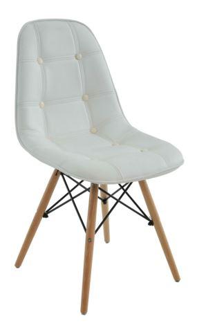 Cadeira Eiffel Botone Branca - Moln Design Furniture