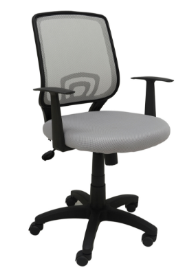 Cadeira Escritorio Avila Cinza - Moln Design Furniture