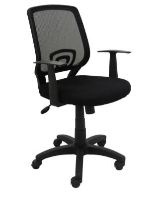 Cadeira Escritorio Avila Preta - Moln Design Furniture