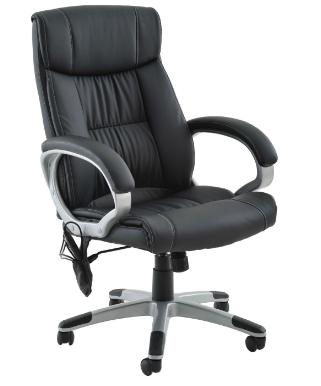 Cadeira Escritorio Cartagena Com Massagem Preta - Moln Design Furniture