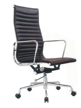 Cadeira Escritorio Madrid Alta Preta - Moln Design Furniture