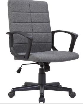 Cadeira Escritorio STOL Tecido Cinza Escuro