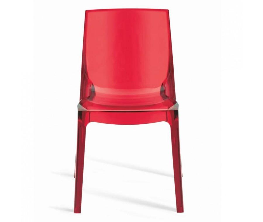 Cadeira Femme Fatale Vermelha - Moln Design Furniture