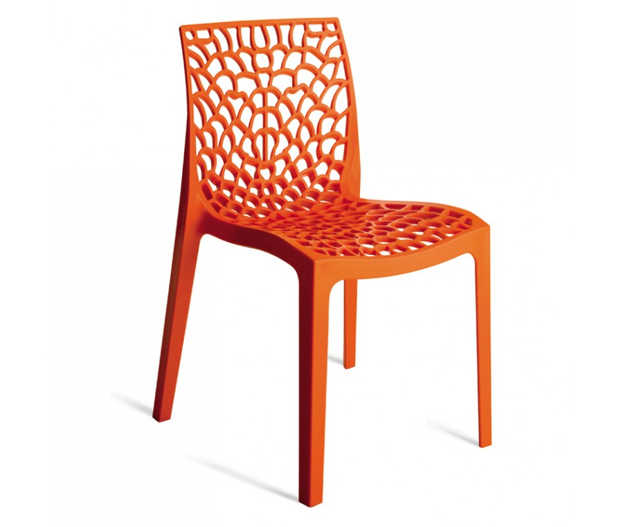 Cadeira Gruvyer Laranja - Moln Design Furniture