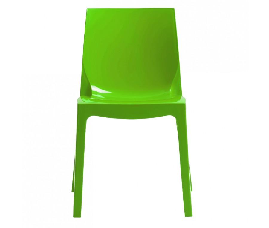 Cadeira Ice Polipropileno Verde - Moln Design Furniture