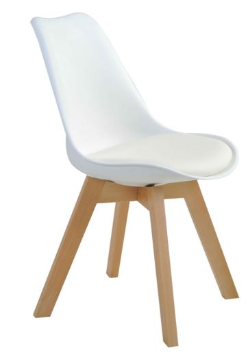 Cadeira Leda Branca - Moln Design Furniture