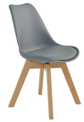 Cadeira Leda Cinza - Moln Design Furniture