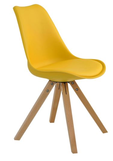 Cadeira Ligia Amarela - Moln Design Furniture