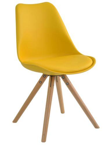 Cadeira Luisa Amarela - Moln Design Furniture