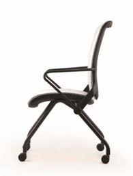 Cadeira Ergonômica Escritório com Rodizios em Tela Mesh Branca Modelo Lii - Moln Design Furniture
