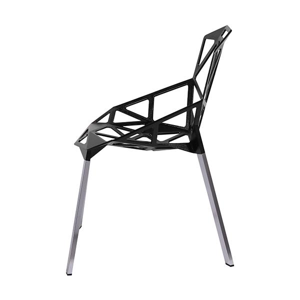 Cadeira Penélope One Preta - Moln Design Furniture