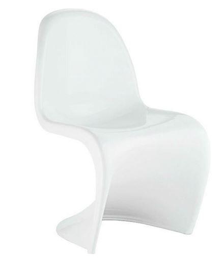 Cadeira Verner Panton Branca em ABS - Moln Design Furniture