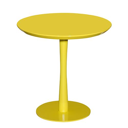 Mesa Lateral Acácia Amarela - Moln Design Furniture